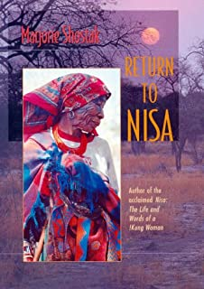Nisa The Life And Words Of A Kung Woman Amazoncouk Marjorie