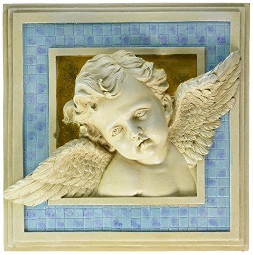 - Design Toscano Cherub's Heavenly Gaze Wall Sculpture