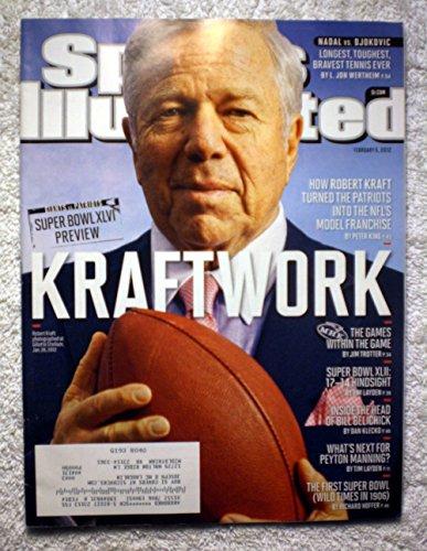Robert Kraft   Super Bowl Xlvi Preview   New England Patriots Vs New York Giants   Sports Illustrated   February 6  2012   Si
