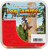 Pine Tree Farms 12 Pack of Log Jammers Hi Energy Suet 3 Refills (36 Plugs Total) 3