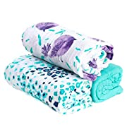 Hold Me Close™ Muslin Gauze Extra Large Swaddle Blanket Set, Birdie, 3 pack
