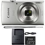Canon Ixus 185/Elph 180 20MP Digital Camera 8x Optical Zoom Silver