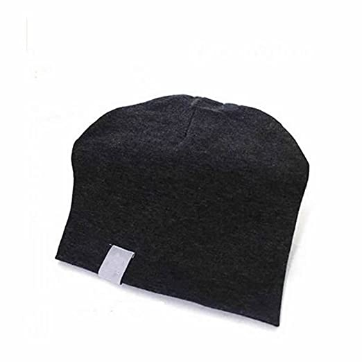 a0884f634e0 GOOTRADES Soft Unisex Cotton Beanie Hat Cap for New Born Baby Boy Girl  Toddler (Black)  Amazon.ca  Clothing   Accessories