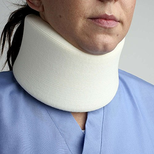 MediChoice Serpentine Cervical Collar, Small, 1-Inch Medium-Density Foam Covered With Stockinette, Hook And Loop Closure, 3.5 Inch High x 18.25 Inch Long (Each of 1)