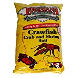 Louisiana Fish Fry Products Crawfish, Crab and Shrimp Boil Seasoning, 4.5-Pound Bag (Pack of 3)