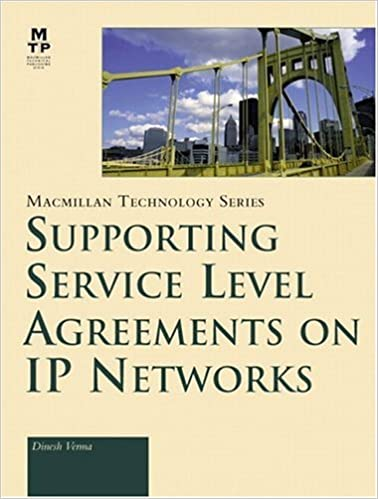 Supporting Service Level Agreements On Ip Networks Macmillan