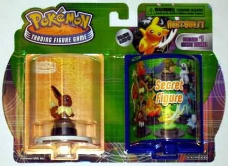 Pokemon Trading Figure Game Next Quest 2-Figure Booster Set (Eevee + 1 (Pokemon Trading Figure Game)