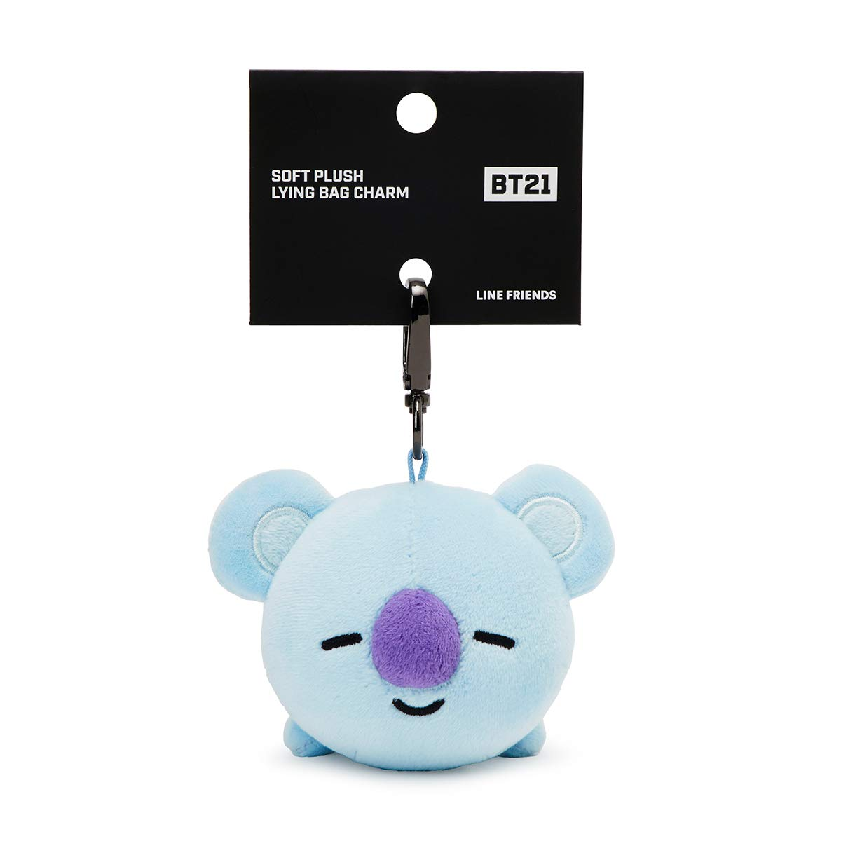 BT21 Official Merchandise by Line Friends - Character Plush Keychain Handbag Accessory for Women, Parent