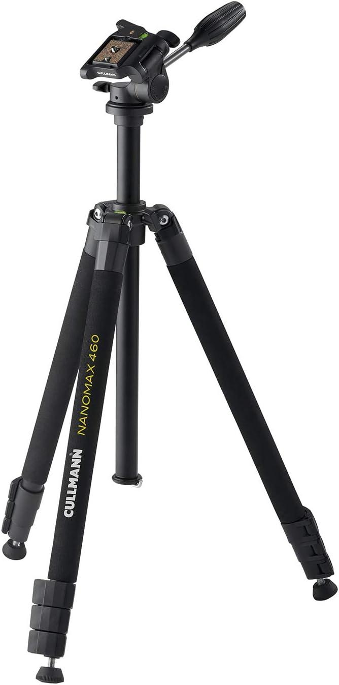 Cullmann 52461 Nanomax 460 Rw20 Dreibeinstativ Mit Kamera