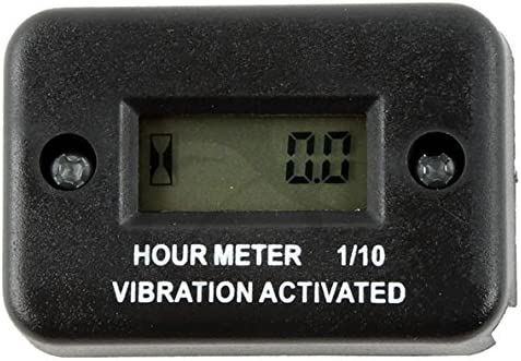 TCMT Vibration Hour Meter Fits For Motorcycle ATV Snowmobile Boat Mower Stroke Gas Engine