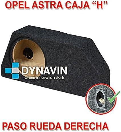Dynavin Opel Astra H. Rueda Derecha - Caja ACUSTICA para SUBWOOFER ...
