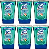 touch Lysol No-Touch Hand Soap Refill, Hydrating Cucumber & Watermelon, 8.5 Ounce (Pack of 6)