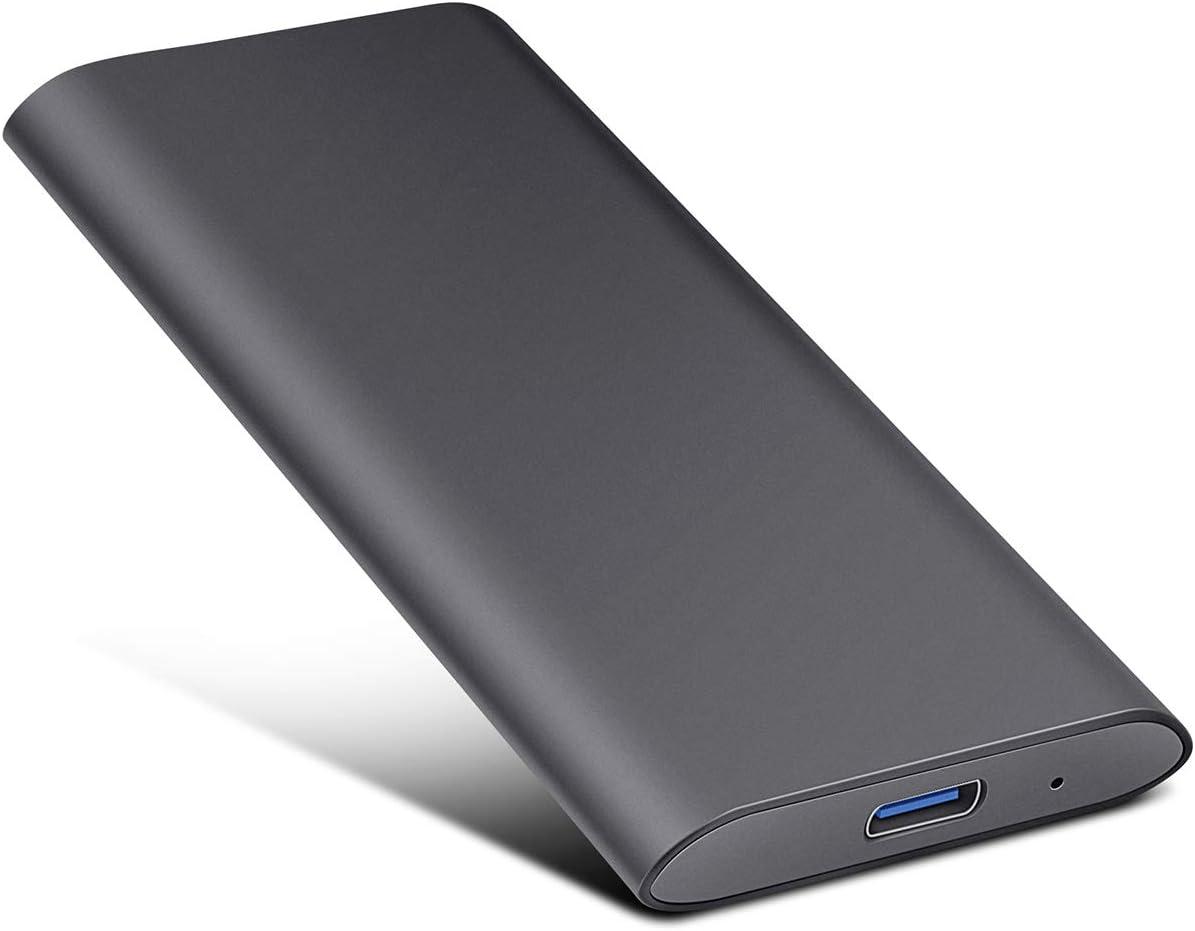 Meiger Disco Duro Externo USB 3.1 para Mac, PC, PS4,MacBook ...