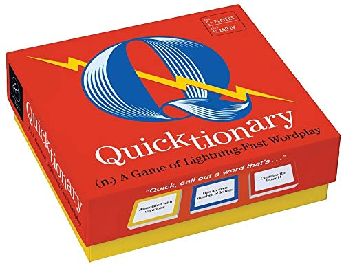 Chronicle Books Quicktionary: A Game of Lightning-Fast Wordplay from Chronicle Books