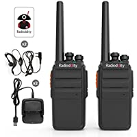 Radioddity R2 Advanced Two-Way Radio UHF 400-470MHz 16 CH...