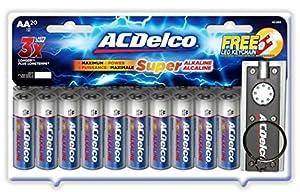 ACDelco Super Alkaline AA Batteries