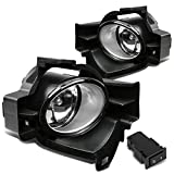 2012 altima fog light kit - For Nissan Altima L32A 4-Door Pair of Driving Bumper Driving Fog Lights + Wiring Kit + Switch (Clear Lens)