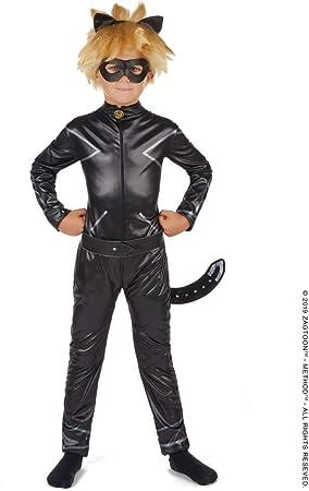 Vegaoo - Disfraz Miraculous Cat Noir niño - L 9-10 años (129-140 ...