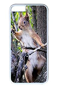 iphone 6 4.7inch Case and Cover Squirrel Animal PC case Cover for iPhone 6 White