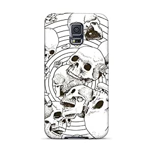 Bumper Hard Phone Covers For Samsung Galaxy S5 With Unique Design Lifelike Grateful Dead Pictures SherieHallborg