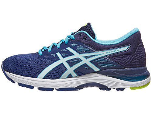 ASICS Womens Gel-Flux 5 Running Shoe, Blue Print/Soothing Sea, Size 7