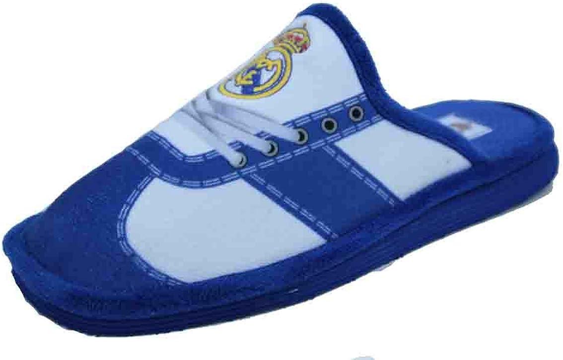 Zapatillas Real Madrid Andar por casa Estampado Cordones