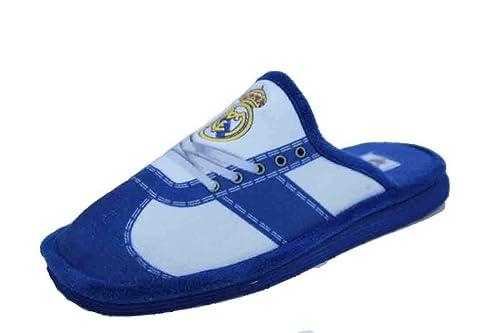 Zapatillas Real Madrid Andar por casa Estampado Cordones (43)