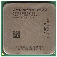 AMD Athlon64 X 2 5000 (Socket AM2–2,6 GHz Processeur ADO5000IAA5DO-OEM