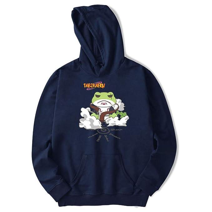 Memoryee Señoras Naruto Toad Immortal Imprimir Sudadera con Capucha Gran Bolsillo Manga Larga Anime japonés Suéter: Amazon.es: Ropa y accesorios