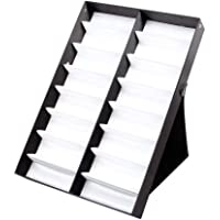 AMHDEE 16PCS Sunglasses Organizer Eyewear Display Storage Case
