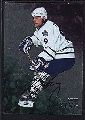Pierre Turgeon 1998/99 Bap Be A Player On Card Autograph Blues Sp