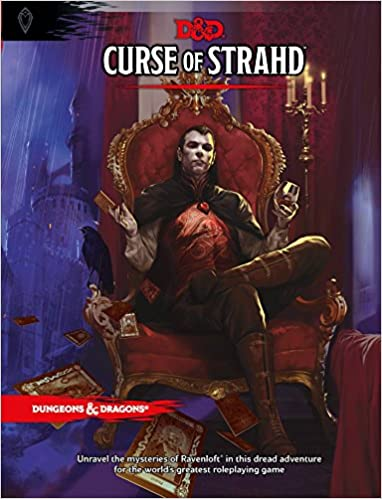 curse of strahd a dungeons dragons sourcebook dd supplement