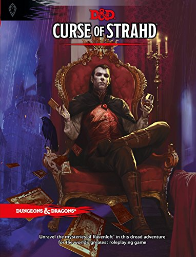 Curse of Strahd: A Dungeons & Dragons Sourcebook (D&D Supplement) (Plastic Edition Model)