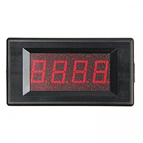 3œ Red LED Digital DC Volt Panel Meter/20V: Amazon.es: Industria ...