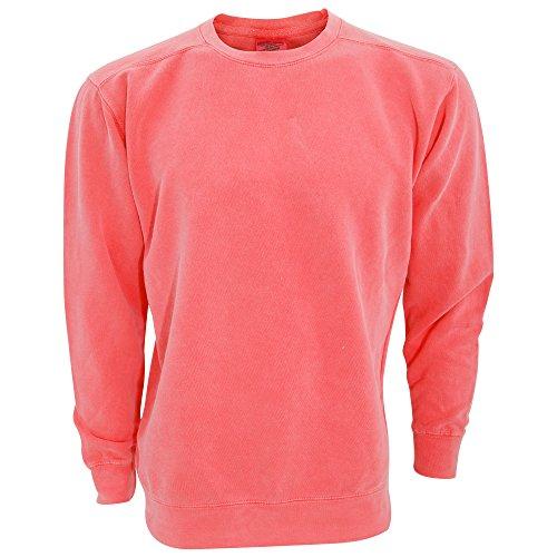 Comfort Colors Adults Unisex Crew Neck Sweatshirt (S) (Watermelon)