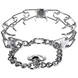 "Herm Sprenger Stainless Steel Prong Training Collar with Swivel 23"" - Large 3.2mm"