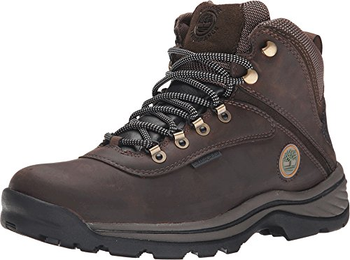 Timberland Men's White Ledge Mid Waterproof Boot,Dark Brown,9.5 W US by Timberland