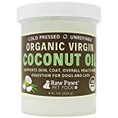 """Nutrient Rich, Daily """"Superfood"""" Supplement for Dogs and Cats! Raw Paws Pet Coconut Oil Supplement is an excellent Superfood offering a multitude of health benefits for dogs and cats. Add this 100% natural, cold pressed and unref..."""