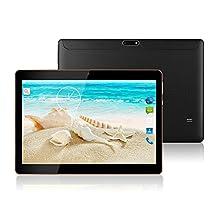 MaiTai 10 Inch Tablet Pc Android 7.0 1280X800 IPS Tablets PC Octa Core RAM 4GB ROM 64GB 8.0MP 3G MTK6592 Dual sim card Phone Call GPS Bluetooth 7 9 Black