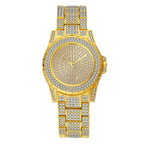 diamond iced out watch - 6