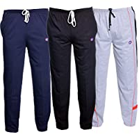 VIMAL Men's Cotton Track Pants – Pack Of 3