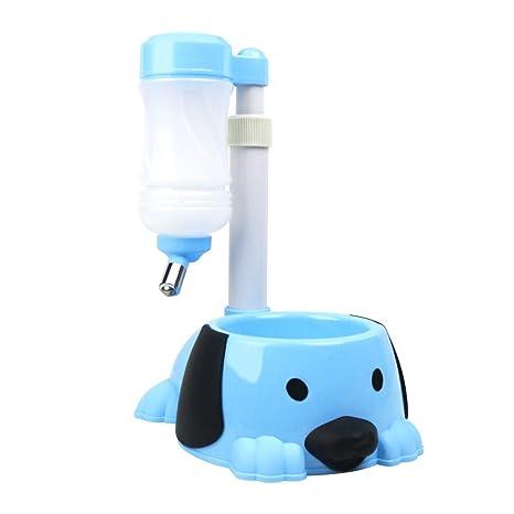 Bebedero Automático y Comedero 2 en 1 para Perro Gato Botella ...