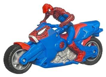 spiderman 93695 zoom n go moto
