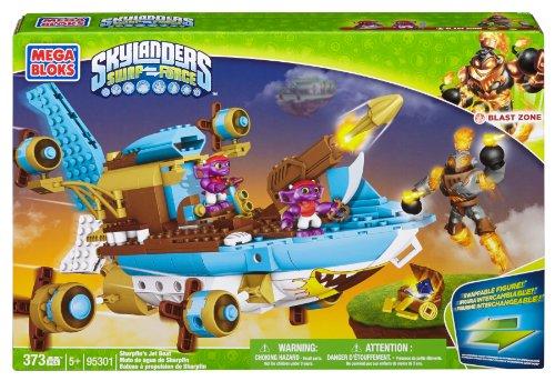 Mega Bloks Skylanders Sharpfin's Jet Boat