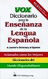 Vox Diccionario para la Ensenanza de la Lengua Espanola, NTC Publishing Group Staff, 0844270962