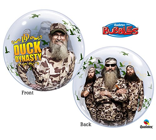 Dynasty Foils - Burton & Burton Packaged Duck Dynasty Bubbles Foil Balloon, 22