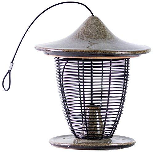 Byer of Maine Alcyon Bird Feeder (Granite Pagoda)