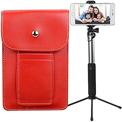 Bundle - Cartera de Piel Vegana Vertical para Smartphone, Color ...