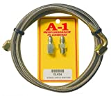 """A-1 Racing Products Inc. 42"""" Oil Pressure Line Kit with 1/8 NPT Fittings"""