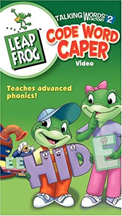 amazon com leap frog talking words factory 2 code word caper